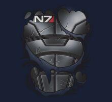 N7 Armor One Piece - Long Sleeve