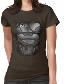 N7 Armor Womens Fitted T-Shirt
