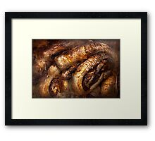 Sweet - Strudel - Almond Strudel Abstract Framed Print