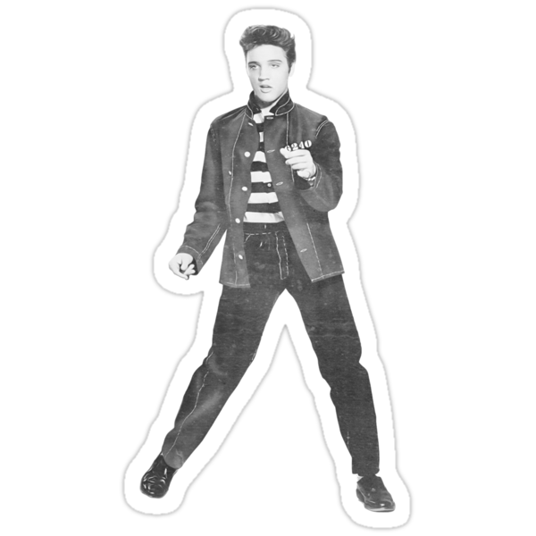 ELVIS Jailhouse Rock by Deadscan