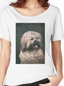 Tibetan terrier Women's Relaxed Fit T-Shirt
