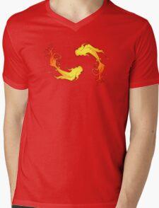 koi dance Mens V-Neck T-Shirt