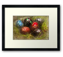 Spring - Easter - Easter Eggs  Framed Print