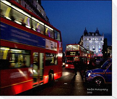 London after dark! by Greg Parfitt