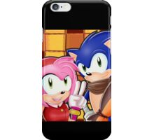 Sonic Boom: Sonic, Amy Rose and Sticks iPhone Case/Skin