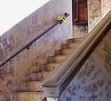 Stairway To Yesterday iPhone Case by Betty Northcutt