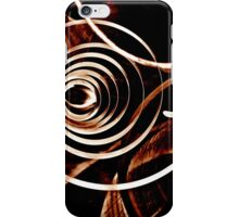 Geometrical abstraction iPhone Case/Skin