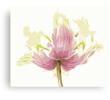 Abstract Beauty - A Floral Design Canvas Print