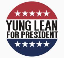 Yung Lean For President by fysham
