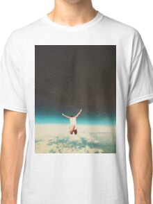 Falling with a hidden smile Classic T-Shirt