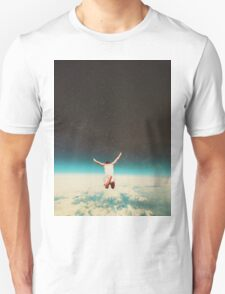 Falling with a hidden smile Unisex T-Shirt
