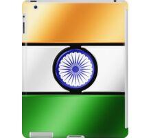 Indian Flag - India - Metallic iPad Case/Skin