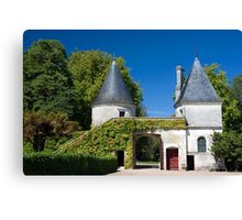 Chateau de Nitray Canvas Print