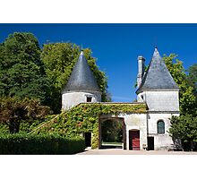 Chateau de Nitray Photographic Print