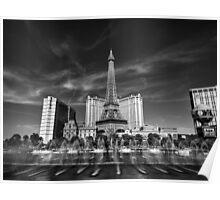 Las Vegas 016 BW Poster