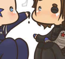 Stucky painting Sticker