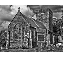 St Andrews Church, Wickhambreux Photographic Print