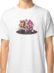 Mighty and Espio Ready for Battle Classic T-Shirt