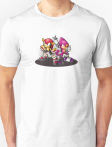 Mighty and Espio Ready for Battle Unisex T-Shirt
