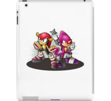 Mighty and Espio Ready for Battle iPad Case/Skin