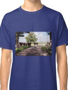 Cow crossing - Denman. NSW Classic T-Shirt