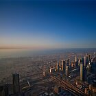 Sunset on the Burj by Michael Powell