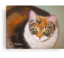 Sweetheart Kitty Canvas Print