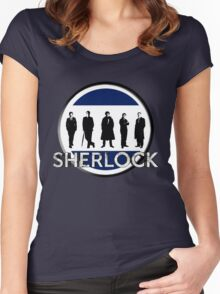 Sherlock cast Women's Fitted Scoop T-Shirt