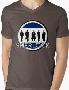 Sherlock cast Mens V-Neck T-Shirt