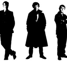 Sherlock cast Sticker