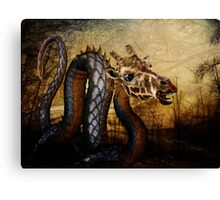 Trifling With Dragons Canvas Print