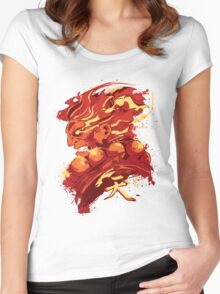 Gouki (RED) Women's Fitted Scoop T-Shirt