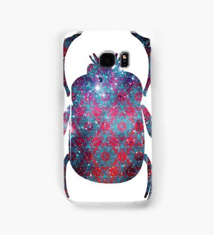 Spiderman Nebula Sacred Geometry | Egyptian Scarab Beetles  Samsung Galaxy Case/Skin