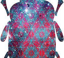 Spiderman Nebula Sacred Geometry | Egyptian Scarab Beetles  by SirDouglasFresh