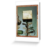 Pepsi Bottle Tree on Route 66 Greeting Card
