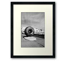 Donut or Bagel Framed Print