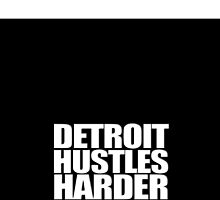 Detroit Hustles Harder Iphone Case by cdoty