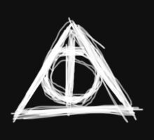 Deathly Hallows - white by rogercastoro