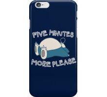 Snorlax wants to sleep - Pokemon iPhone Case/Skin