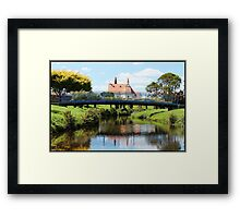 Penguin Park Framed Print