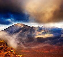 Sunset Over Haleakala Crater 2 by Alex Preiss