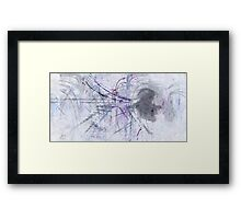 What is left behind Framed Print