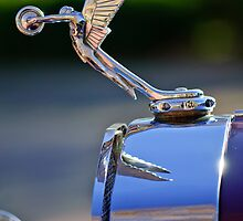 1927 Isotta-Fraschini Tipo 8A Boat-Tail Tourer Hood Ornament by Jill Reger