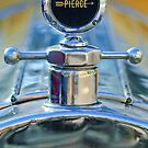 1920 Pierce-Arrow Model 48 Coupe Hood Ornament by Jill Reger