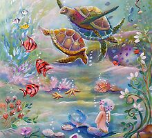 the Dance of the Sea Turtles by Robin Pushe'e