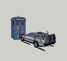 Doctor Who Meets Back to the Future by LJBHOLSON