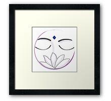Zen Time Framed Print