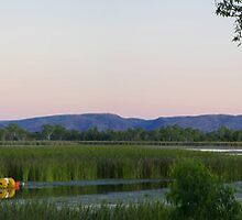 Lake Kununurra at Dusk by Neil Mounsher