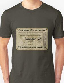 Global Revenant Eradication Agent - ID badge T-Shirt