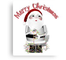 Merry Christmas from Robo-x9 Canvas Print